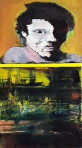 "<span class=""nome_artista"">Andreas Waldmeier<p class=""nome_opera"">Kopf dunkel hell e Kristall Seelandschaft</p><p class=""info_opera"">olio su lino <br>2018, 40x40 cm, 50x40 cm"