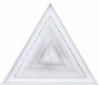 """<span class=""""nome_artista"""">Alberto Biasi <p class=""""nome_opera"""">DINAMICA TRIANGOLARE</p><p class=""""info_opera"""">acrilico e pvc su tavola, <br>1999, cm 71 x 83</p></span>"""