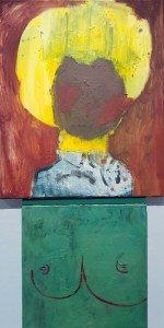 "<span class=""nome_artista"">Andreas Waldmeier<p class=""nome_opera"">One Line Tits e cheap Portrait</p><p class=""info_opera"">olio su lino e olio su cotone<br>2018, 38x38 cm, 60x50 cm"