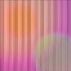"""<span class=""""nome_artista"""">Sandi Renko<p class=""""nome_opera"""">NEBULA 518 </p><p class=""""info_opera"""">lenticolare retroilluminato e sonorizzato da Nicola Sanguin2018, 60 x 60 cm</p></span>"""
