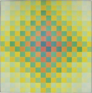 "<span class=""nome_artista"">Hugo Demarco<p class=""nome_opera"">COULEUR</p><p class=""info_opera""> acrilico su tela,<br> 1960-89, cm 120 x 120_0x300</p></span>"