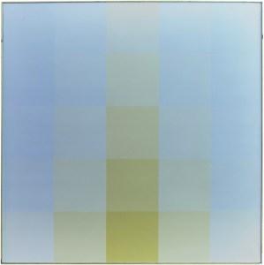 "<span class=""nome_artista"">Hugo Demarco<p class=""nome_opera""> COULEUR</p><p class=""info_opera"">acrilico su tela<br>1977, cm 120 x 120</p></span>"