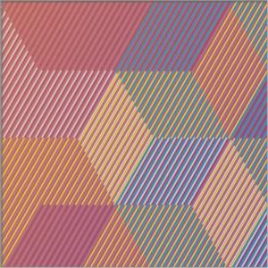 """<span class=""""nome_artista"""">Sandi Renko<p class=""""nome_opera"""">TRIKVADRAT B216 </p><p class=""""info_opera"""">aerografo su canneté acrilico<br> 2016, 25 x 75 cm</p></span>"""