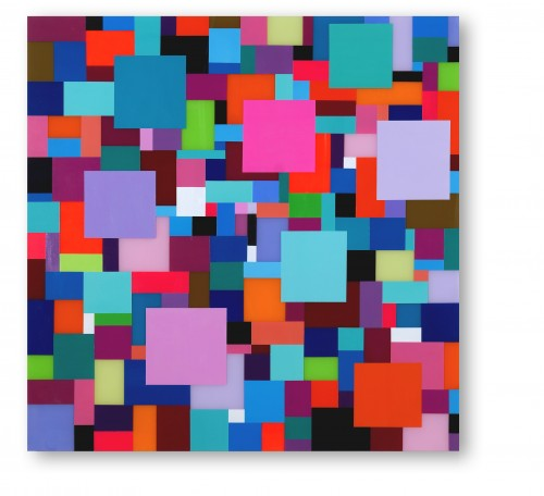 """<span class=""""nome_artista"""">Marco Casentini<p class=""""nome_opera"""">STREETLIGHTS (ROSE BLVD)</p><p class=""""anno_opera"""">2018</p><p class=""""info_opera"""">acrilico su perspex su alluminio</p>cm 100 x 100</p></span>"""